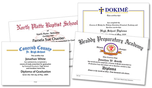 Series 500 High School Graduation Products
