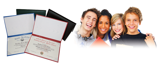 Middle School Diploma Printing