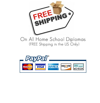 Free Homeschool Diploma Shipping